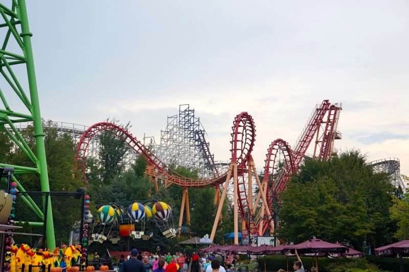 View of Wicked Cyclone