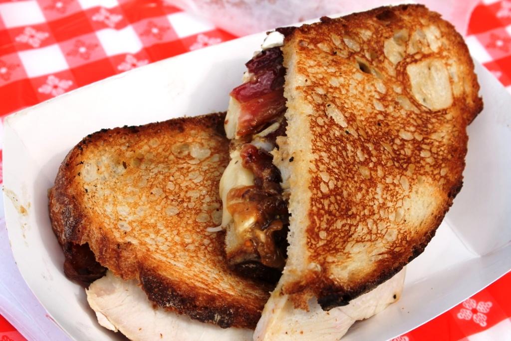 Bacon Truck Brie Sandwich