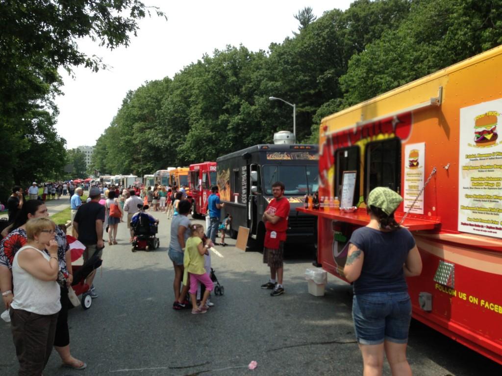 Food Truck Festival Six Flags