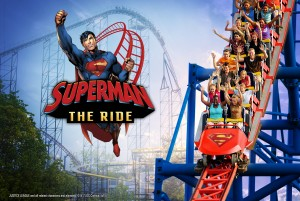 superman the ride this is six flags new englands fan favorite in the park standing at 208 ft tall with a 221ft tall drop this amazing coaster was