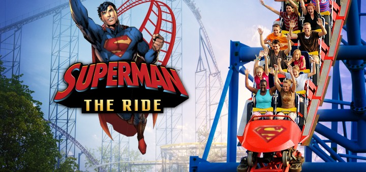 Superman The Ride Key Art