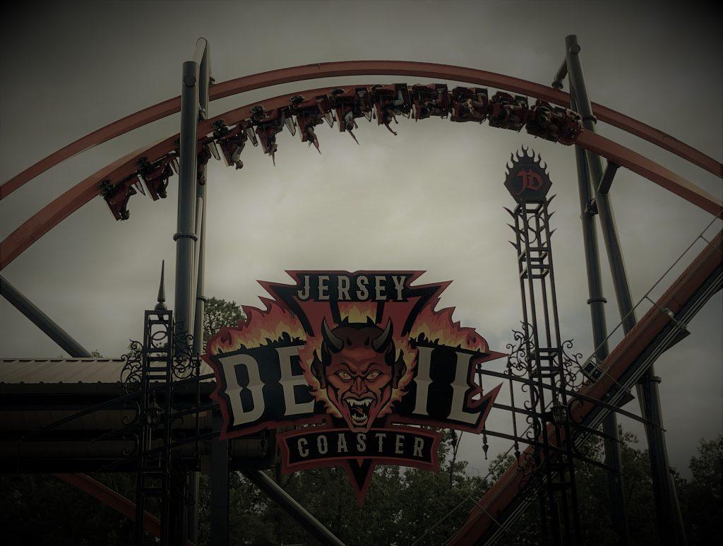 Jersey Devil Coaster Money Shot