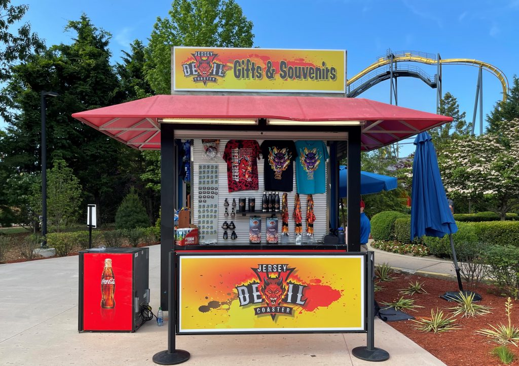 Jersey Devil Coaster Souvenir Stand
