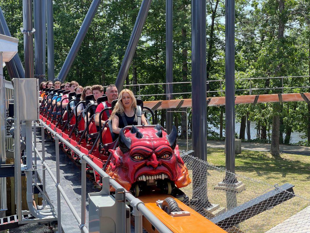Jersey Devil Coaster Train